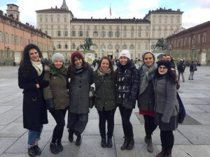 Il gruppo di Rete Zero Waste durante il raduno di Torino